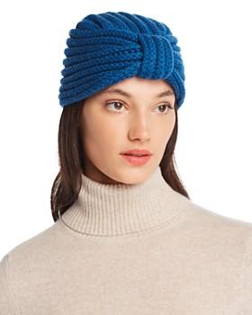 Rosie Sugden - Knit Cashmere Turban Hat