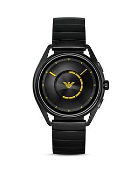 Emporio Armani Tech - Black Touchscreen Smartwatch, 43mm