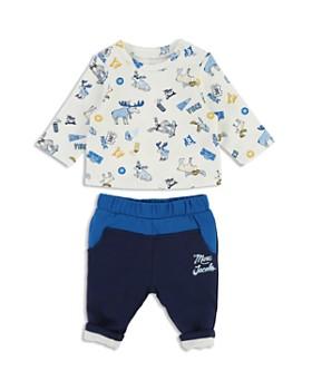 0a7df463aca7 Little Marc Jacobs - Boys  Moose-Print Tee   Jogger Pants Set - Baby ...