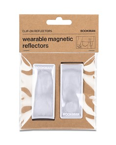 Bookman - Wearable 2-Piece Reflector Clip Set
