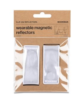 Bookman - Wearable 2-Piece Reflector Clip Set