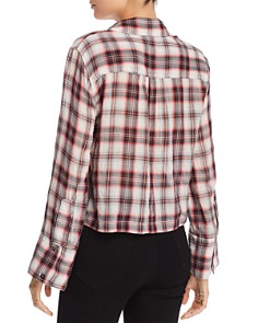 Splendid - Plaid Cropped Shirt