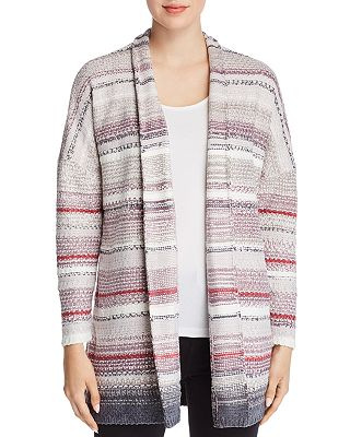 Petite Sunset Stripe Cardigan