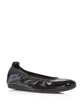 Arche - Women's Laius Patent Leather Ballet Flats