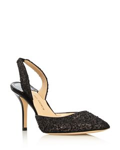 319026220d5b Loeffler Randall Women s Leily Pointed Toe Metallic Leather High ...