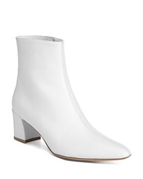 Vince - Women's Lanica Leather Block Heel Booties