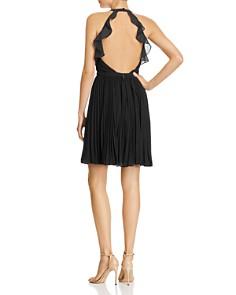 Aijek - Pleated Mini Dress