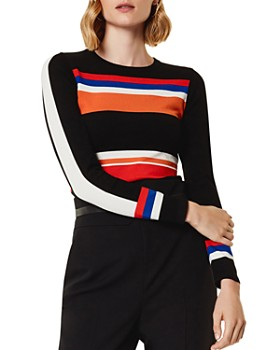 KAREN MILLEN - Striped Sweater