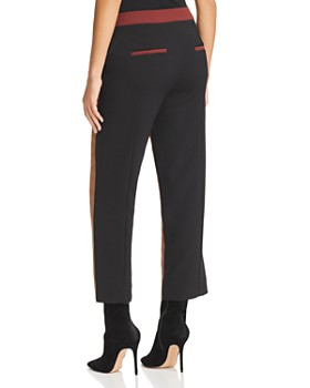 Marella - Roma Cropped Color-Blocked Pants