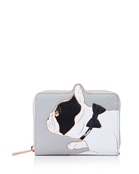 Ted Baker - Small Dog Zip-Around Wallet
