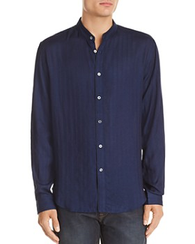 John Varvatos Collection - Tonal-Striped Slim Fit Shirt