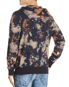 True Religion - Arched Logo Tie-Dyed Hoodie