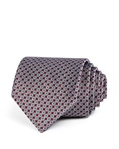 The Men's Store at Bloomingdale's Neat Compass Silk Classic Tie - 100% Exclusive _0