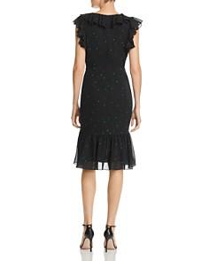 WAYF - Daphnie Dot Ruffle Dress