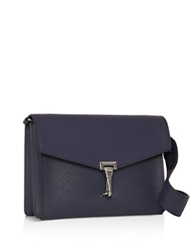 Burberry - Small Perforated Logo Leather Crossbody Bag