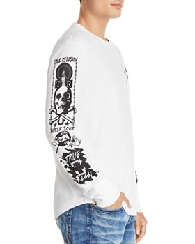 True Religion - Long-Sleeve Branded Graphic Tee