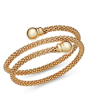 Bloomingdale's Coil Cuff Bracelet in 14K Yellow Gold - 100% Exclusive