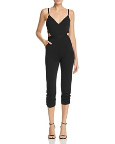 AQUA - Cutout Jumpsuit - 100% Exclusive