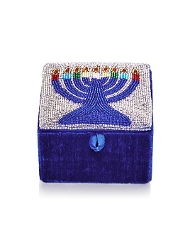 Sudha Pennathur - Beaded Menorah Box
