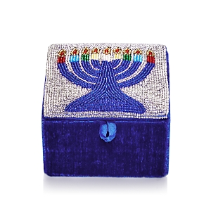 Sudha Pennathur Beaded Menorah Box