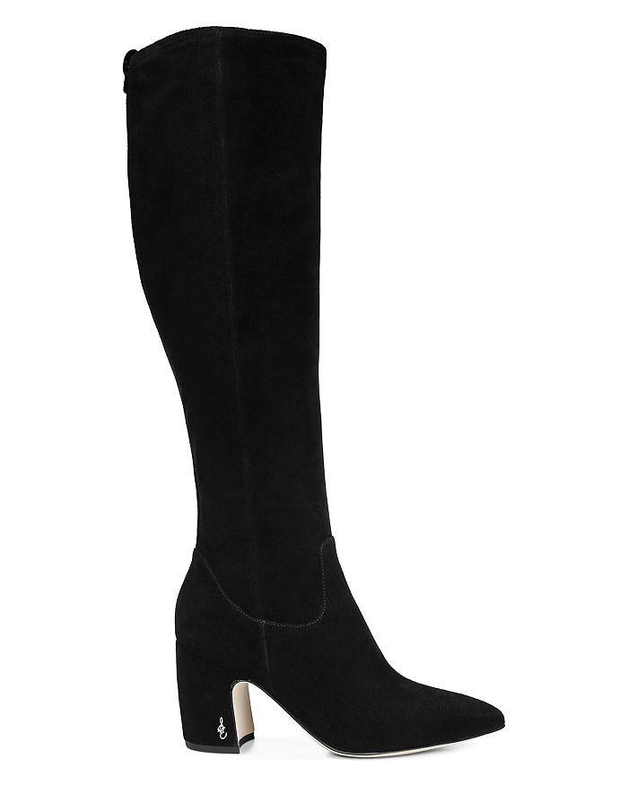 92fe82b5c49 Sam Edelman - Women s Hai Suede Over-the-Knee Boots