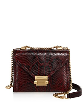 Michael Kors Whitney Small Leather Shoulder Bag 100 Exclusive