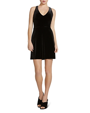 Bailey 44 Anya Velvet Fit-and-Flare Dress