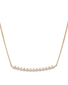 Nadri - Aura Pavé Curve Necklace, 16""