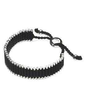 Links of London - Black Friendship Bracelet