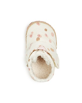 TOMS - Girls' Crib Cuna Party Dot Booties - Baby