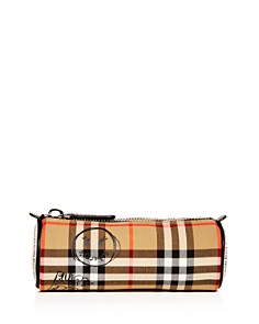Burberry Girls' Vintage Check Graffiti Logo Pencil Case - Bloomingdale's_0