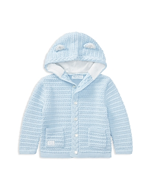Ralph Lauren Boys Hooded Cotton Cardigan with Bear Ears  Baby