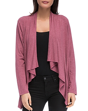 B Collection By Bobeau B COLLECTION BY BOBEAU AMIE WATERFALL CARDIGAN