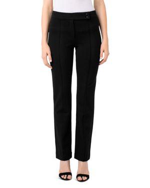 Ingrid Extended Tab Trousers, Black