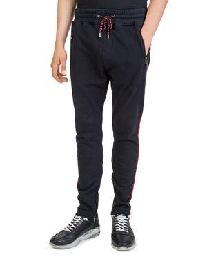 The Kooples Side-Stripe Tapered Sweatpants