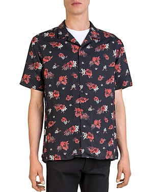 The Kooples Hawaiian Night Camp Shirt