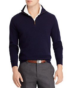 Polo Ralph Lauren - Merino Wool Half-Zip Sweater