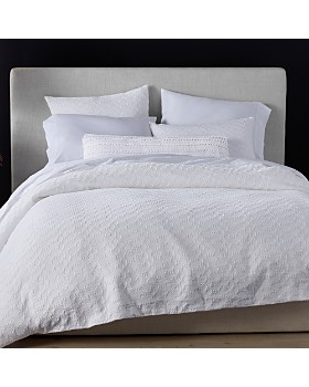 Coyuchi - Organic Cotton White Crystal Cove Bedding Collection