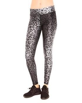 Terez - Tall Cheetah Print Leggings
