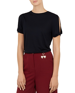 Ted Baker Colour by Numbers Narva Twist-Sleeve Tee