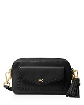 1d78236c6b64 MICHAEL Michael Kors - Small Leather Pocket Camera Bag ...