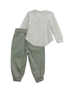 Sovereign Code - Boys' Waffle-Knit Henley & Jogger Pants Set - Baby