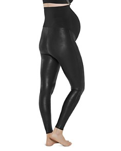 SPANX® - Mama Maternity Faux Leather Leggings