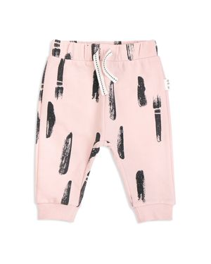 Miles Baby Girls' Paint Stroke Jogger Pants - Baby