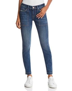 75ef6c671 True Religion - Halle Mid Rise Utility Skinny Jeans in Wild Gemstone ...