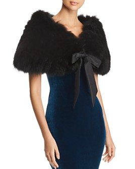 Maximilian Furs - Fox Fur Shawl - 100% Exclusive