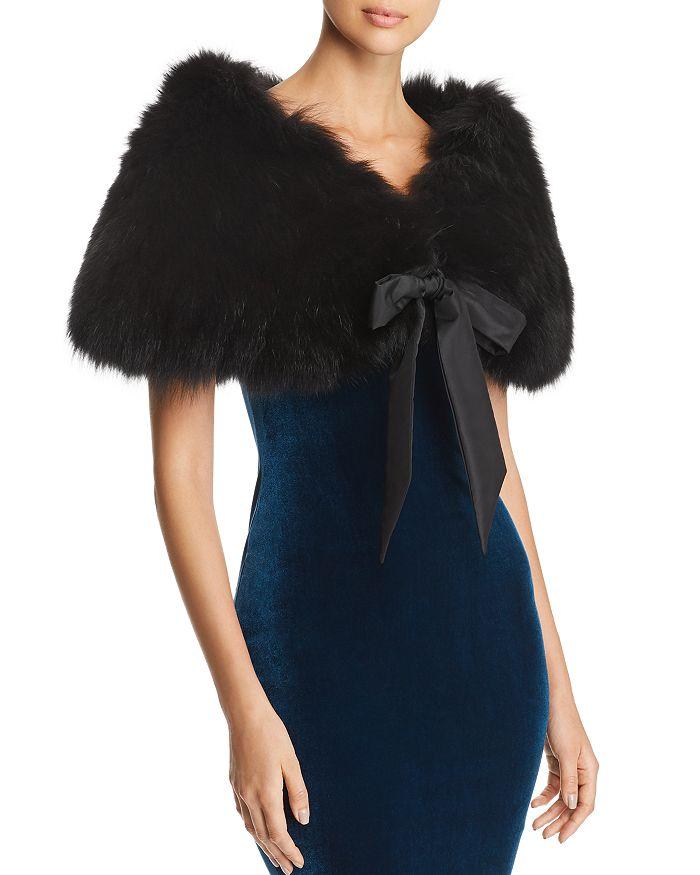 Maximilian Furs - Fox Fur Shawl - 100% Exclusive