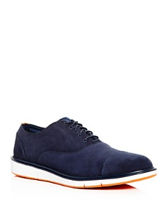 Swims - Men's Motion Nubuck Leather Cap Toe Oxfords
