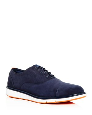 SWIMS MEN'S MOTION NUBUCK LEATHER CAP TOE OXFORDS