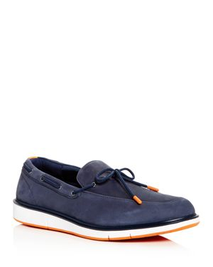SWIMS MEN'S MOTION NUBUCK LEATHER BOAT SHOES